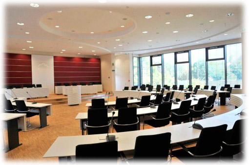 Kreissitzungssaal der Kreisverwaltung Marburg