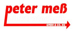 Peter Meß Elektrotechnik Logo
